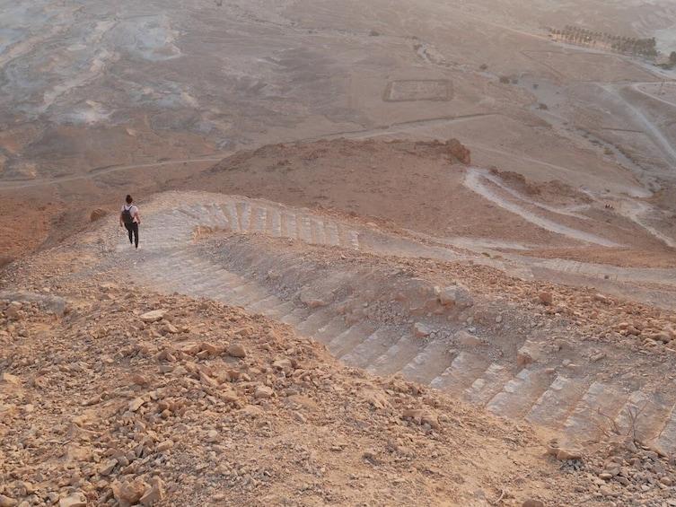 Masada Sunrise, Ein Gedi, and Dead Sea tour