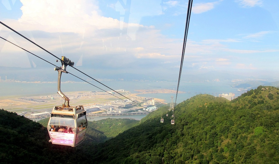 Show item 5 of 10. Ngong Ping Cable Car on Lantau Island