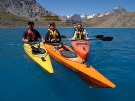 Kayaking Daytrip in the Andes from Santiago