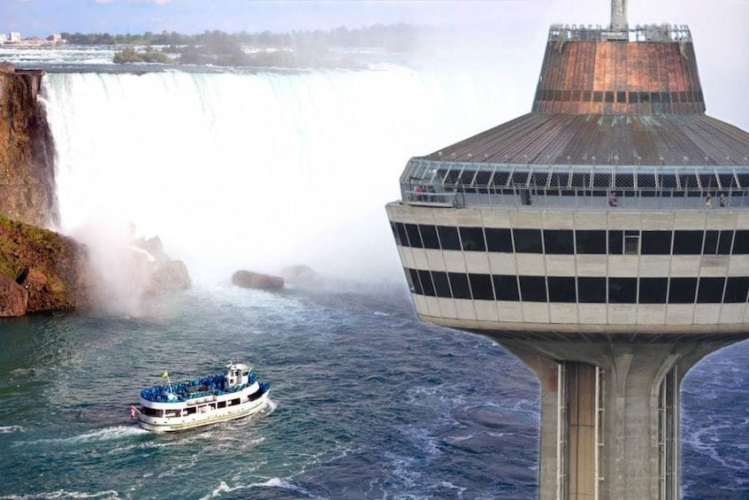 Show item 3 of 4. View of the Maid of the Mist Boat Ride tour of Niagara Falls