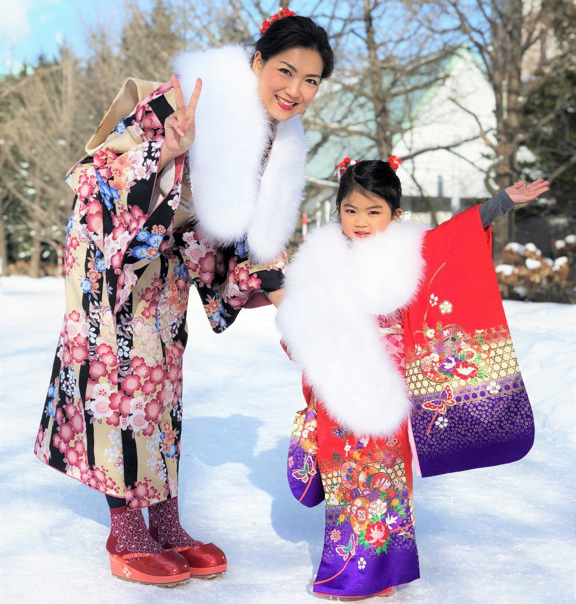 Kimono for your lovely kids in Hokkaido