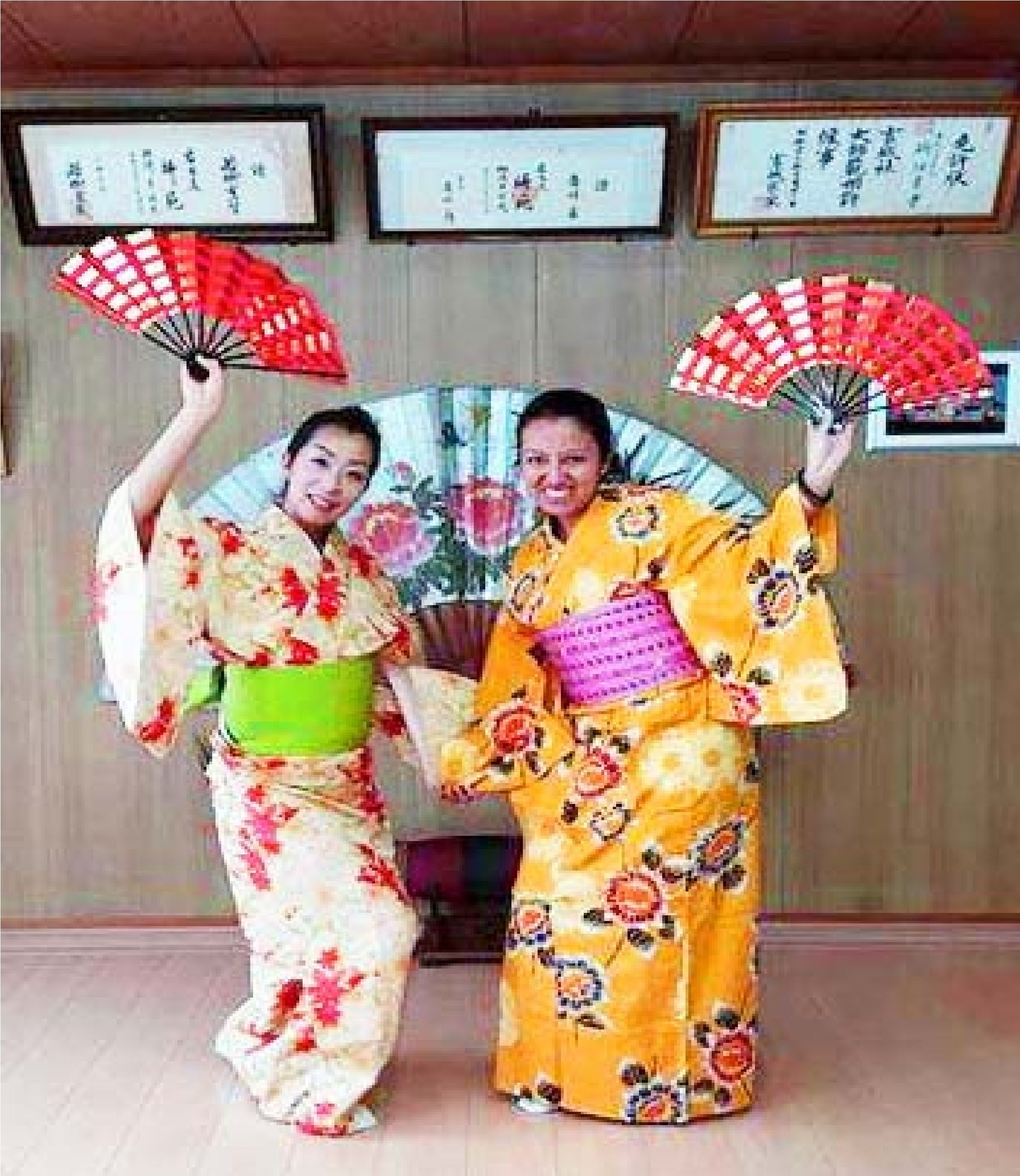 Enjoy Kimono Dressing and Traditional Japanese Dance