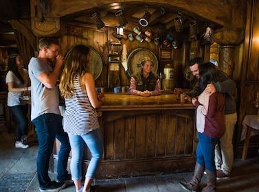 View inside the Hobbiton Movie Set Tour