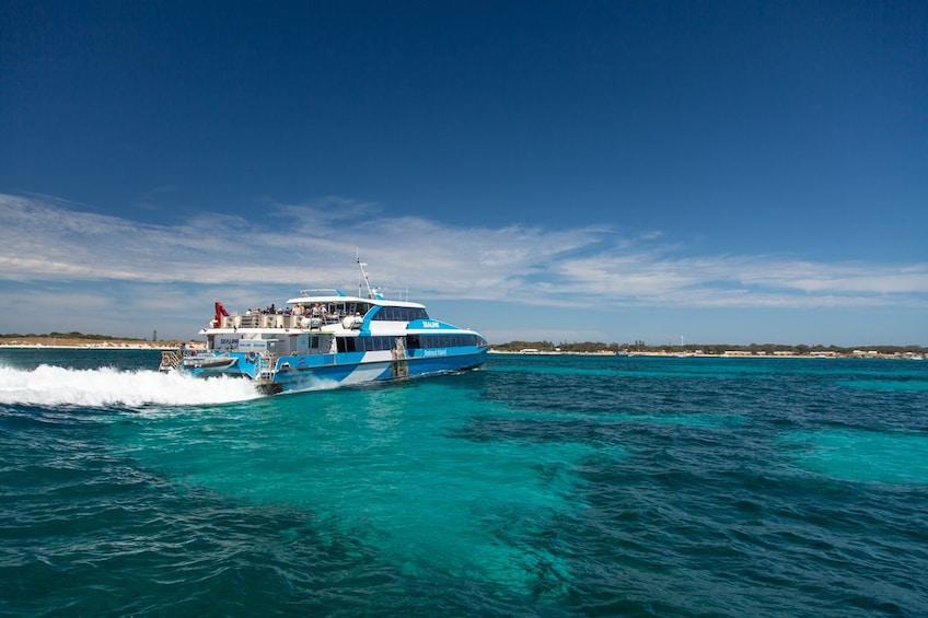Show item 2 of 4. SeaLink Rottnest Island - Same Day Return Ferry