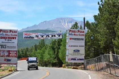 Pikes Peak Highway in Colorado Springs