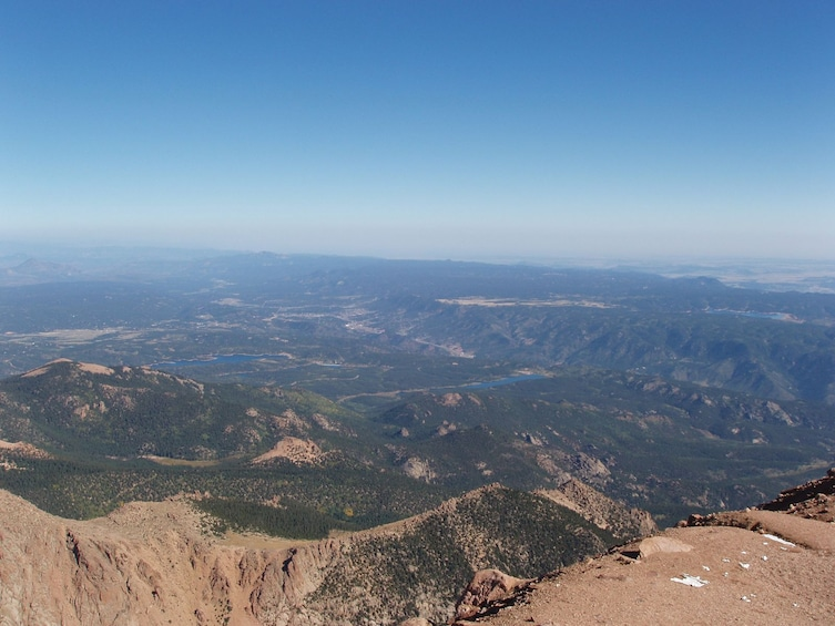 Show item 3 of 5. View from Pikes Peak in Colorado Springs