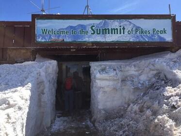 Pikes Peak summit in Colorado Springs