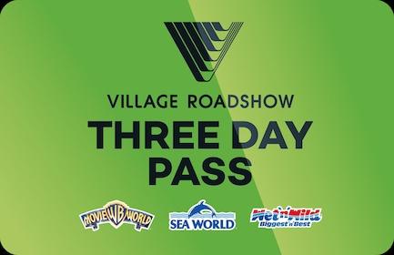 3 Day Pass: Warner Bros. Movie World, Sea World & Wet'n'Wild