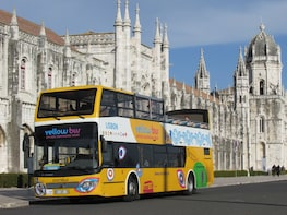 """Passeio de ônibus """"hop-on/hop-off"""" Lisboa Belém"""