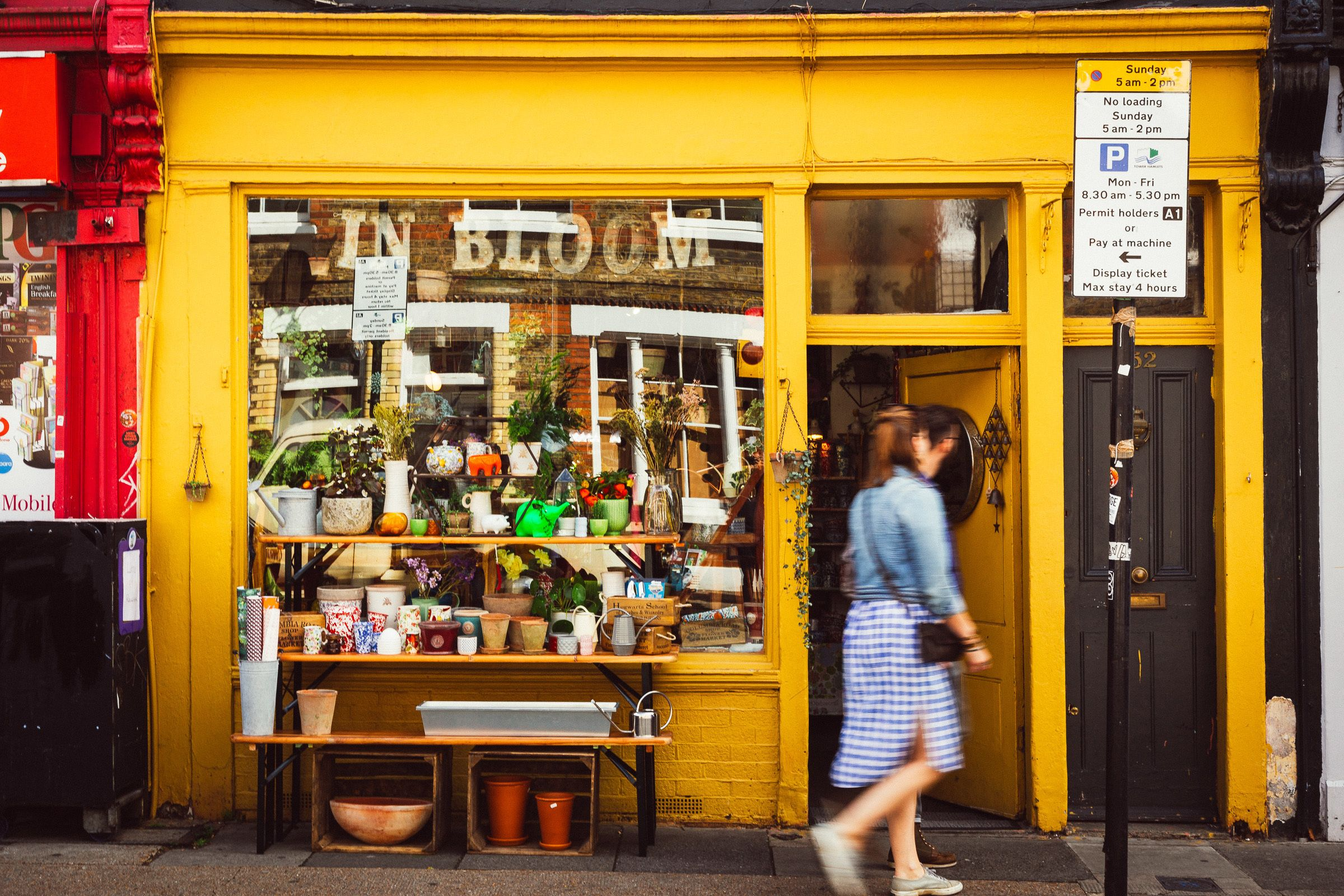 Shop in London's Urban Jungle