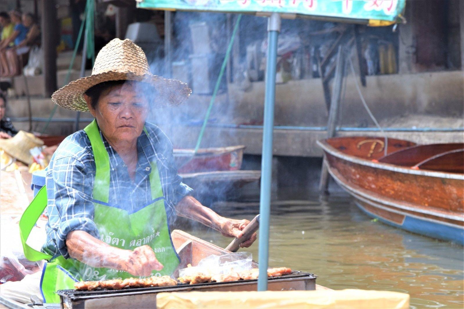 Beyond Bangkok: Railway & Floating Markets Adventure