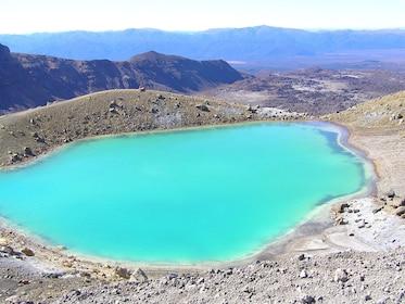 Lake at Tongariro National Park in New Zealand