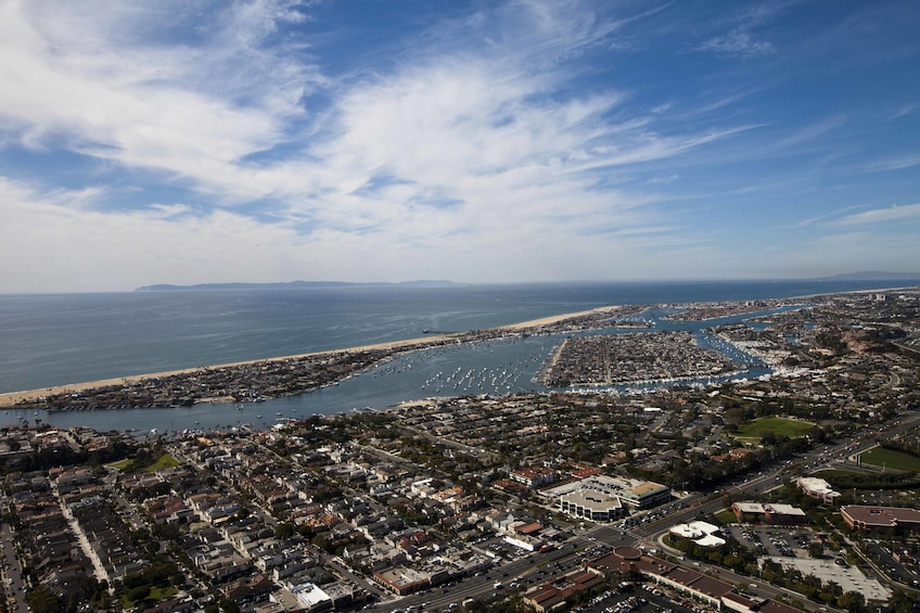 Show item 1 of 10. Newport Beach Helicopter Tour