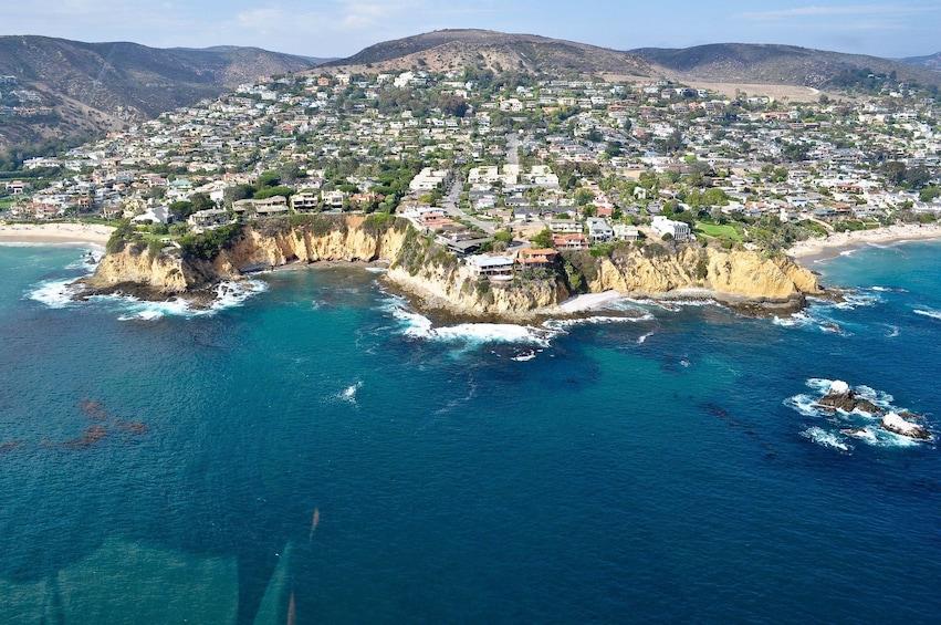 Show item 2 of 9. Laguna Beach Helicopter Tour