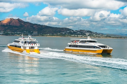 Pair of sightseeing boats in Queensland