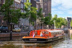 Ámsterdam: crucero de 1 hora por los canales desde la Estación Central