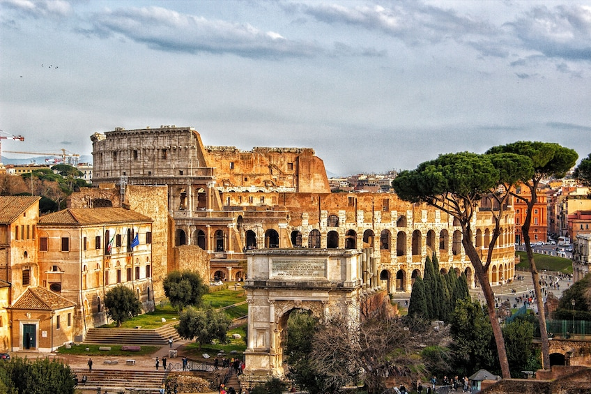 Show item 10 of 10. Colosseum, Forum & Palatine Hill Admission Ticket