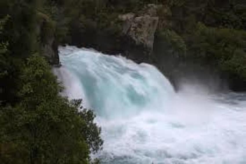 Show item 3 of 3. Waterfalls in Taupo