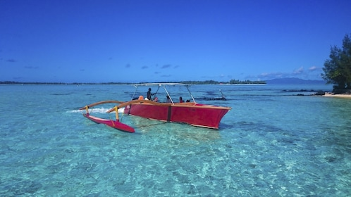 Boat in Bora Bora
