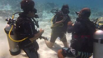 PADI Discover Scuba Diving di Gili Trawangan