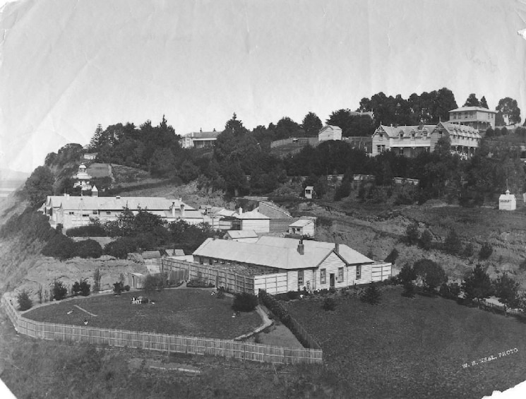 Show item 2 of 5. Old photo of Napier Prison