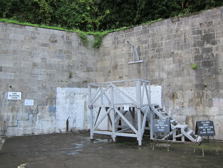 Show item 5 of 5. The Hanging Yard at Napier Prison