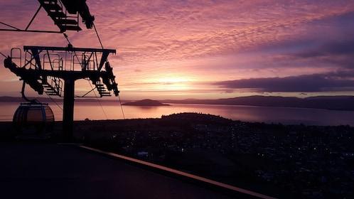 Skyline Rotorua Gondola Sun Set Photo 1.jpg