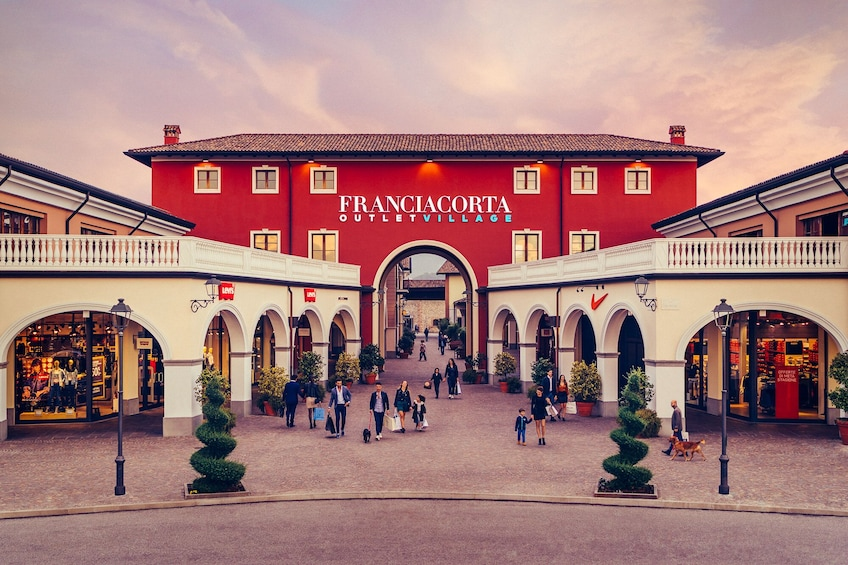 Show item 1 of 5. Franciacorta Outlet Village: Shopping Tour from Bergamo