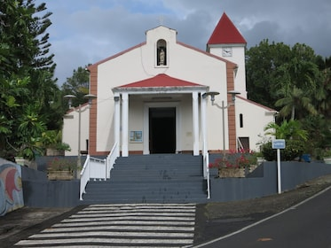A church in Deshaies
