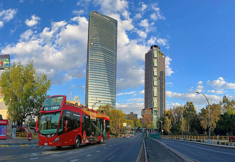 Turibus Hop-on Hop-off City Tour Mexico City