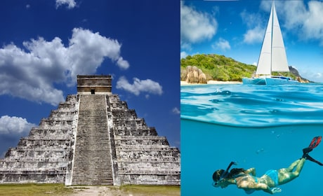 2 for 1: Chichen Itza & Catamaran to Isla Mujeres