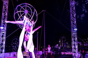 Evening Cruise in Montreal with Circus Acts