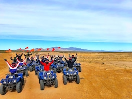 4 Hour Mojave Desert Quad bike Tour with Hamburger Lunch