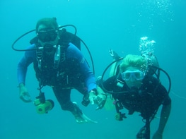 Try diving or snorkelling in the beautiful Andaman Sea