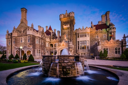 Casa Loma castle in Toronto