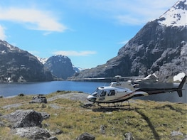 Twin Lakes Helicopter & Jet Boat Combo from Te Anau