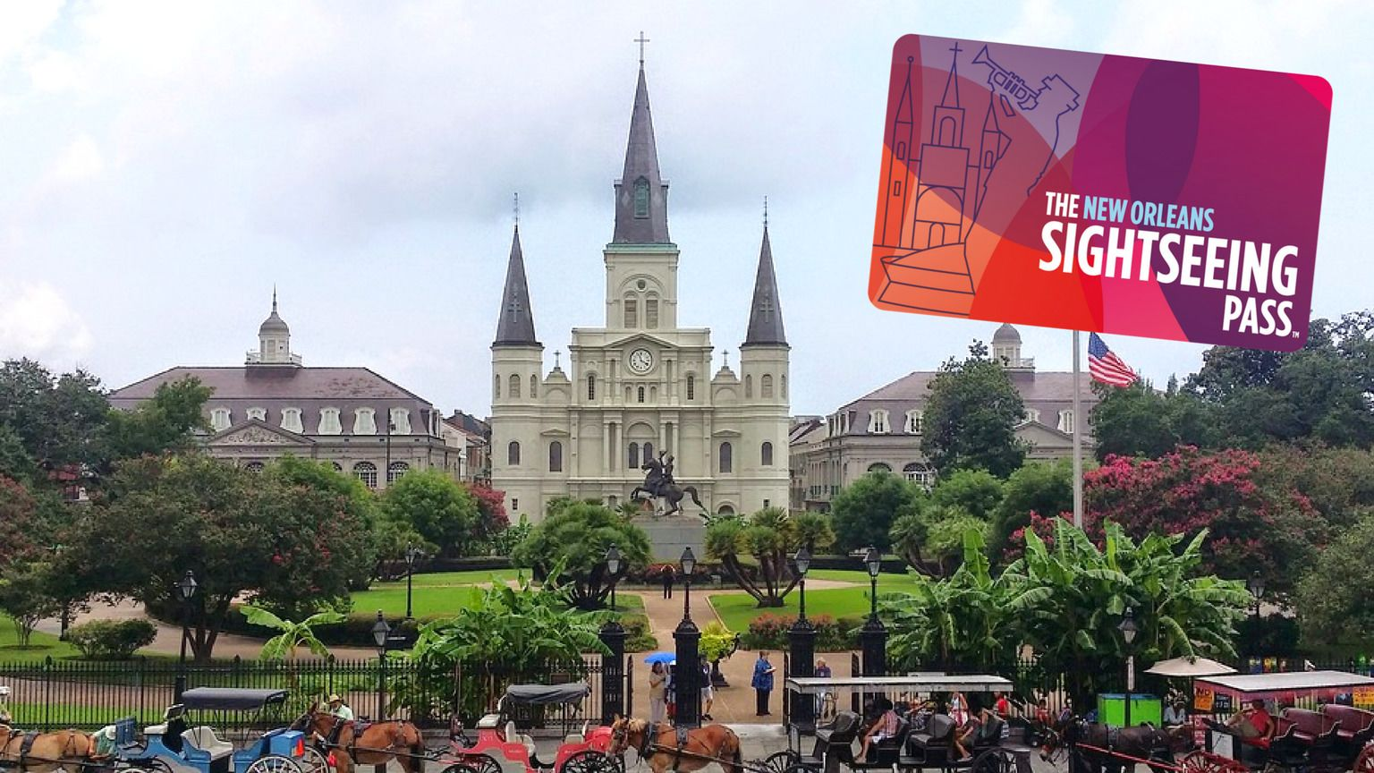 The New Orleans Sightseeing Flex Pass: Attractions & Tours