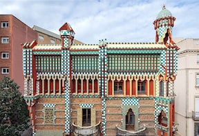 Pääsyliput Casa Vicensiin: Gaudin ensimmäinen mestariteos