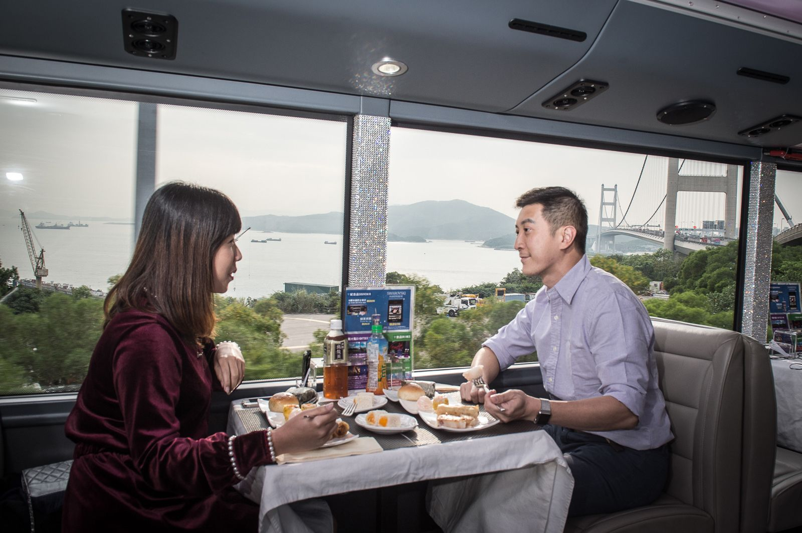 Crystal Bus Sightseeing & Dining Tour
