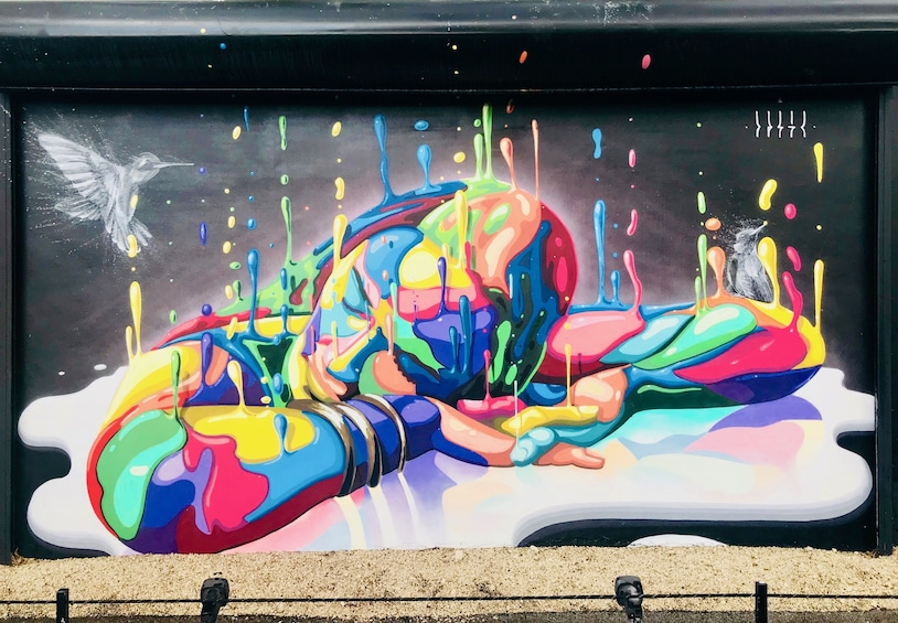 Show item 1 of 5. Colorful street art in Wynwood