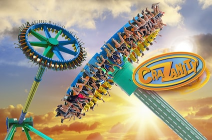 CraZanity, Six Flags Magic Mountain new ride for 2018