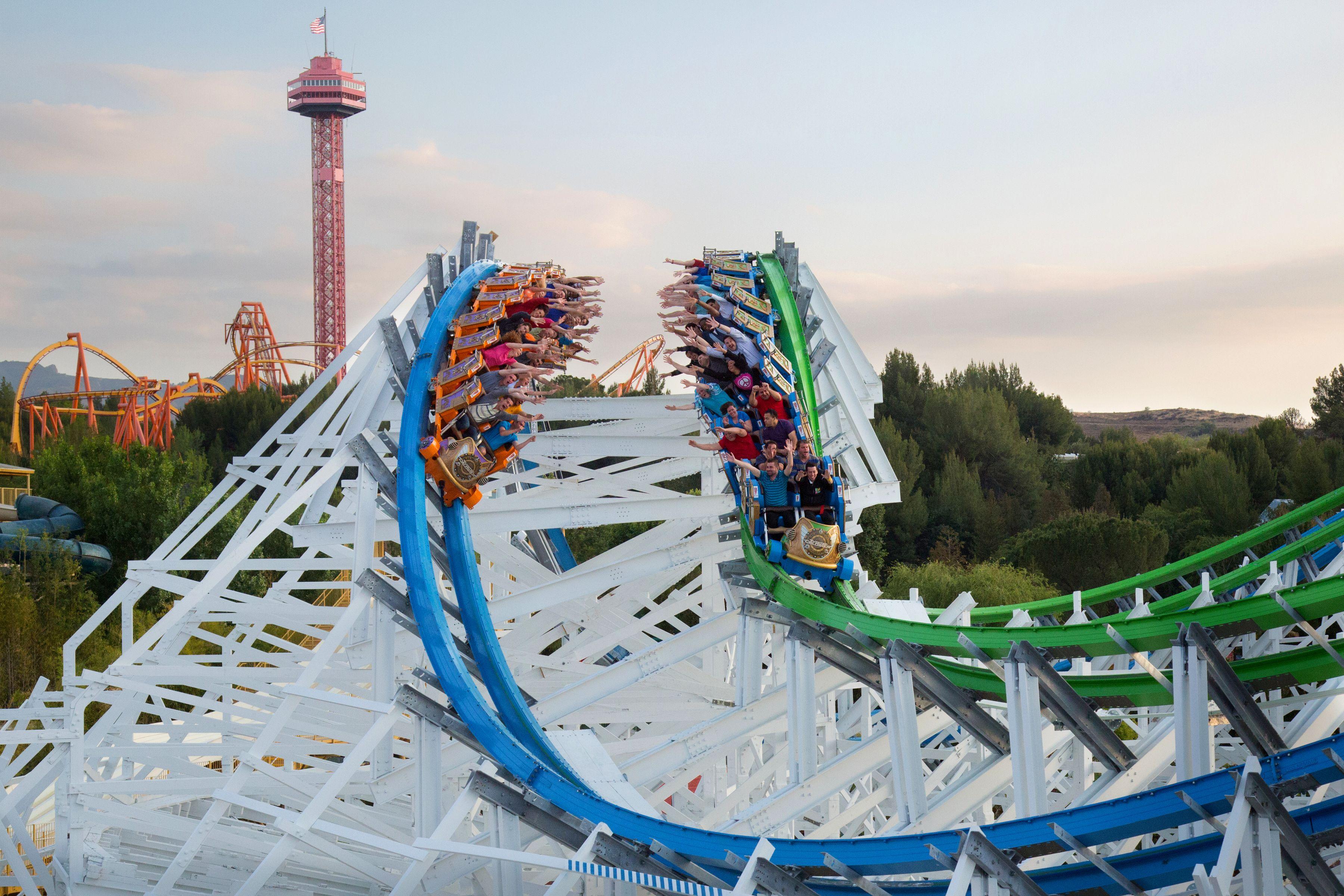 Six Flags Magic Mountain allmänt inträde för en dag