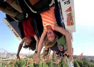 Ride at Six Flags California