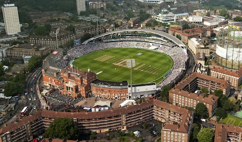 Aerial view of Kia Oval Grounds