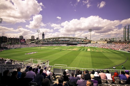 View from the stands of the Kia Oval Grounds