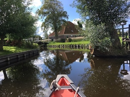 Guided Canoe Tour near Amsterdam