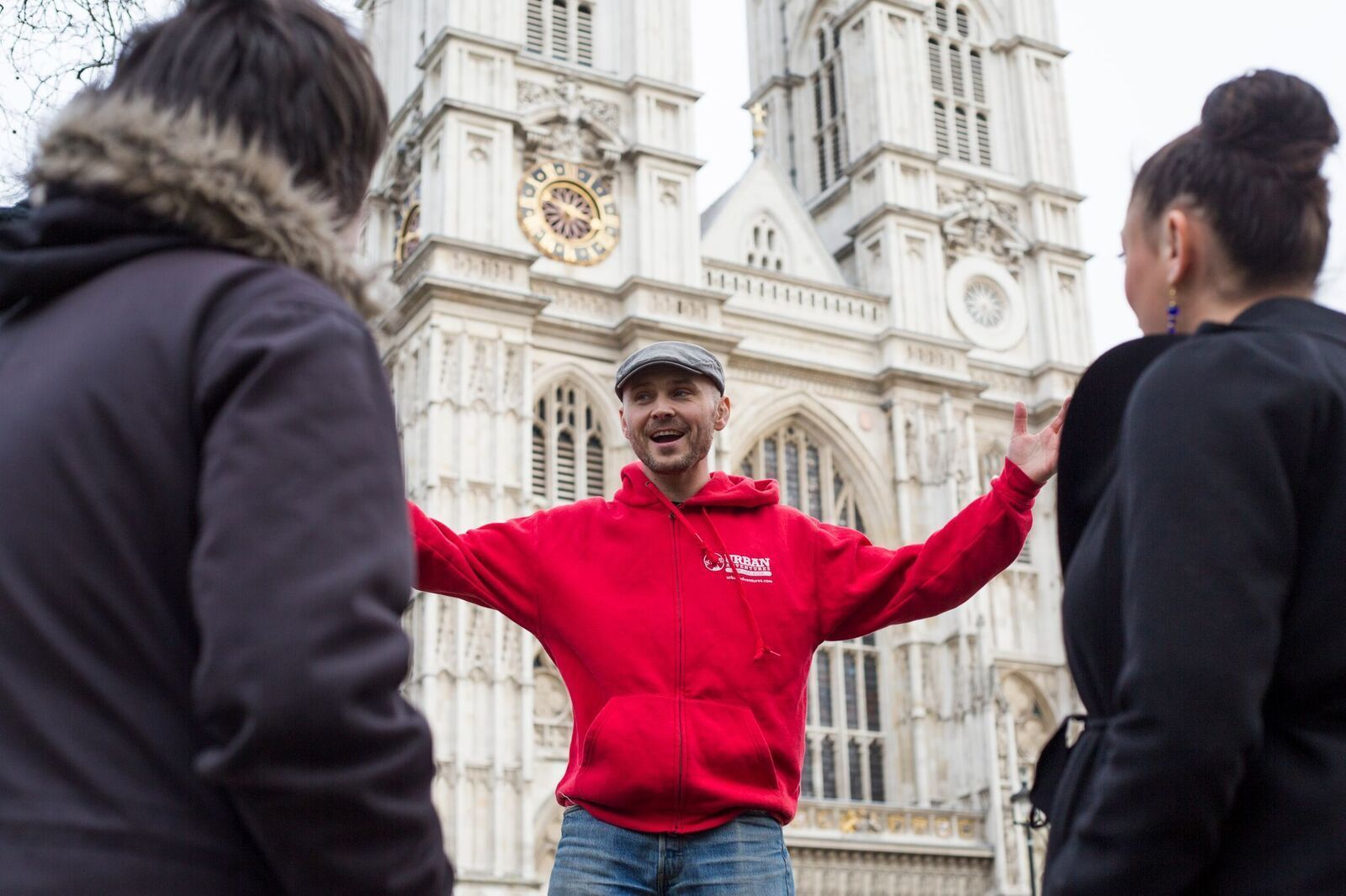 Tour guide in London