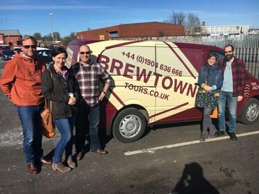 Brewtown tour van in Leeds