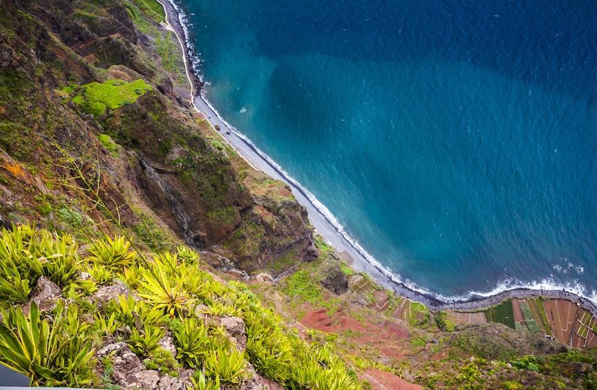 Aerial view of Cabo Girão Island