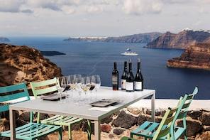 Santorinis vinvägar